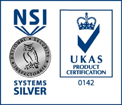 NSI Systems Silver Badge and UKAS Product Certification