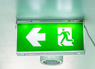 Emergency Lights installation, repair and maintenance services available at Flash Security.