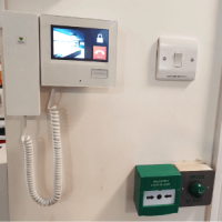 Building security access control system