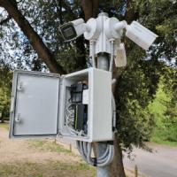 CCTV and video surveillance installation