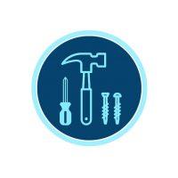 General handyman service icon